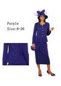 Dress Set Purple $139