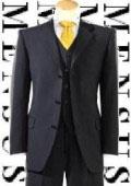 Mens Cheap Black Suits