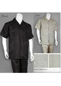 Mens Linen Walking Suit