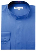 Mens Blue Dress Shirt