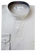 Mens Grey Dress Shirt