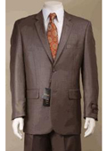 2 Button Taupe Suit