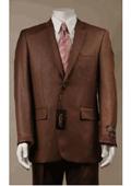 2 Button Rust Suit