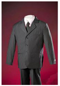 Pinstripe Polyester Cheap Tailor