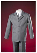 Boys Charcoal Gray Suit