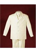 Men Ivory Suit