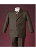 Men Brown Suit