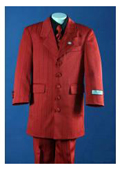Fashion Zoot Red Tailor