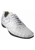 Mens Exotic Skin Sneakers