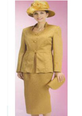 Lynda Couture Promotional Ladies Suits- Gold