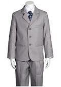 5 Piece Silver Suit