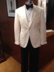 Mens Dress Formal Ivory ~ Cream ~ Off White Dinner Jacket ~ Tuxedo ~ Blazer ~ Sport Coat 14 days delivery