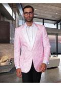 Mens Vintage Pink Stripe