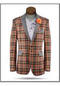 Mens Orange Suit
