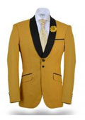 Dinner Jacket Yellow