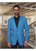 Turquoise Linen Jacket