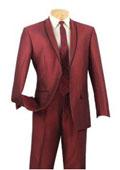 Maroon Pimp Suits