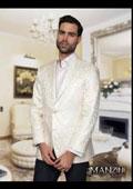 Mens Cream Suit