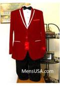 Mens Red Tuxedo