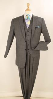 Mens Charcoal Gray Suits