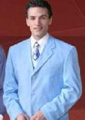 Light blue suits