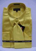 Mens Gold Color Shirt