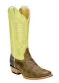 Mens Olive Cowboy Boots