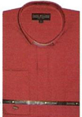 Mens Red Dress Shirt