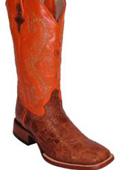 Cowhide Copper~Rust~Cognac/Orange - S