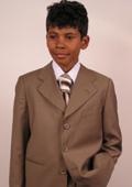 Mens Bronze Suit