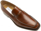 quillostrich Leather Shoe