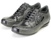 & Grey Genuine Lizard/Crocodile