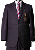 Mens Navy Suit