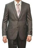Men's 2 Button Grey Suit