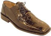 Chocolate Alligator Shoes