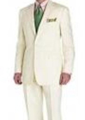 Mens Ivory Suit