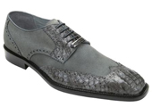 Men's Grey Genuine Crocodile