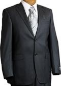 Mens 2Button Charcoal Suit