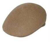 Beige English Cap Hat