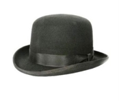 Black Derby Hat $49