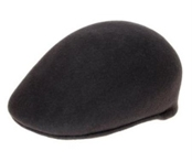 Charcoal English Cap Hat