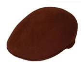 Dark Brown English Cap