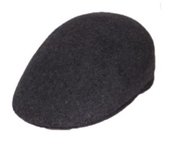Dark Grey English Cap