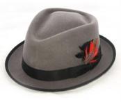 Gray Detroit Hat $49