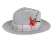 Gray Fedora Hat $49