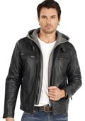 Leather Jacket Black $139