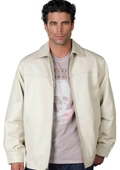 Leather Jacket Bone $199