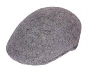 Light Grey English Cap