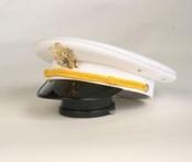 White Cadet Hat $49