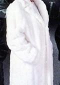Long Fur Trench Coat